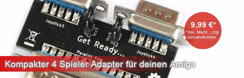 4 Spieler Adapter