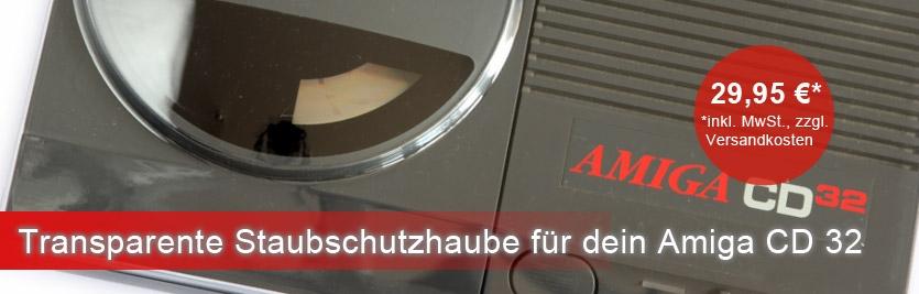 Transparent Staubschutzhaube für Amiga CD 32