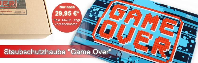 """Staubschutzhaube """"Game Over"""""""