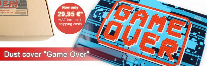 "Dust cover ""Game Over"""