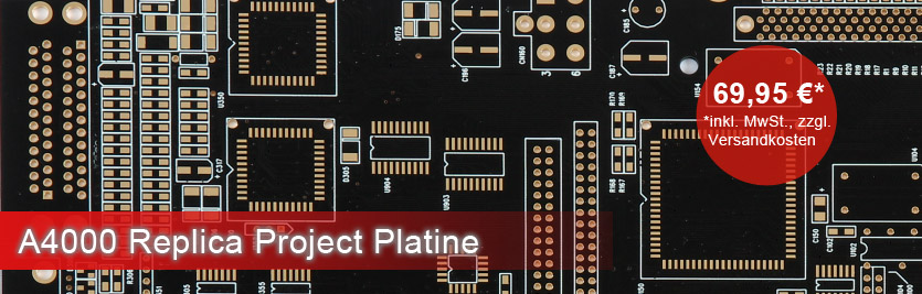 Amiga 4000 Replica Project Platine
