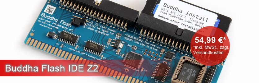Buddha Flash IDE Z2 - Amiga Shop