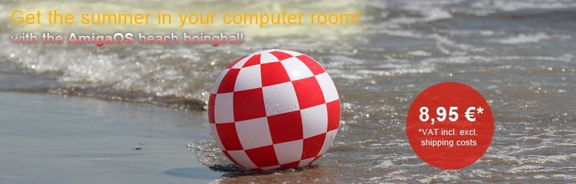 AmigaOS beach boingball