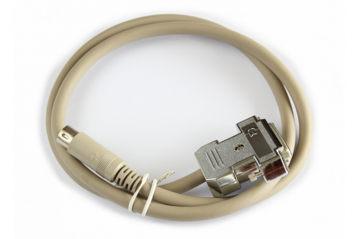 Original Commodore RGB cable to 1084S monitor with DIN6