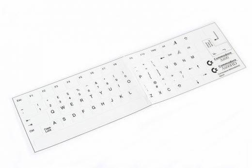 Keyboard sticker Amiga 600