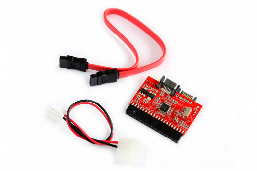 IDE2SATA / SATA2IDE bidirectional adapter