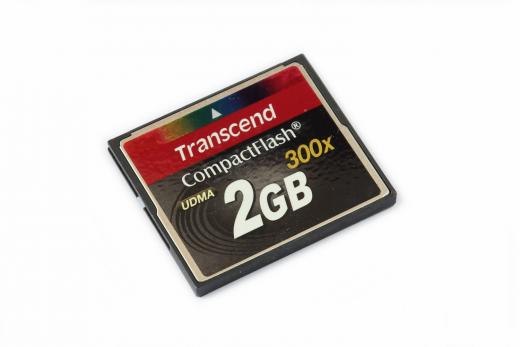 2 GB Compact Flash Karte