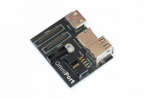 OmniPort - Multi port adapter for Amiga 1200