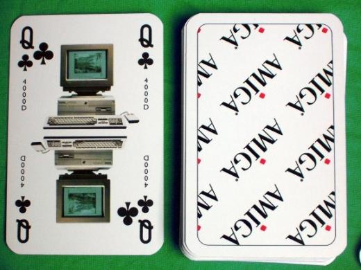 Amiga pack of cards