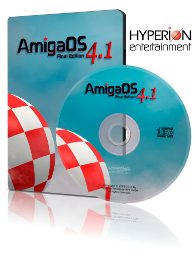 AmigaOS 4.1 FE AmigaOne X1000