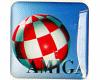 Gehäuseaufkleber Amiga-Boing-3D