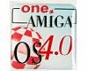Gehäuseaufkleber AmigaOS 4