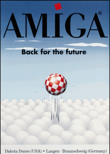 Amiga Poster - Back for the future