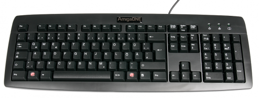 AmigaOne Keyboard (german)