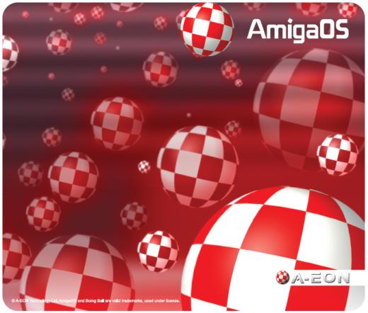 AmigaOS Boing Ball Mausmatte