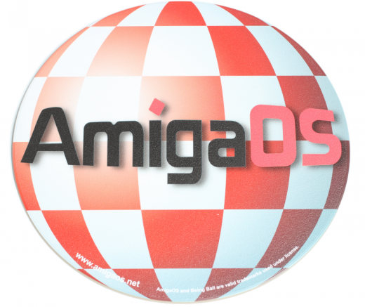 Boingball AmigaOS Mauspad