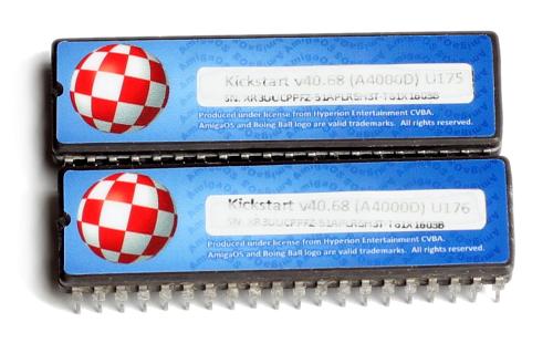 Kickstart 3.1 ROM Chips A4000