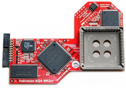 Flickerfixer / Scandoubler Indivision AGA Mk2 CR A1200 / 4000T(*)