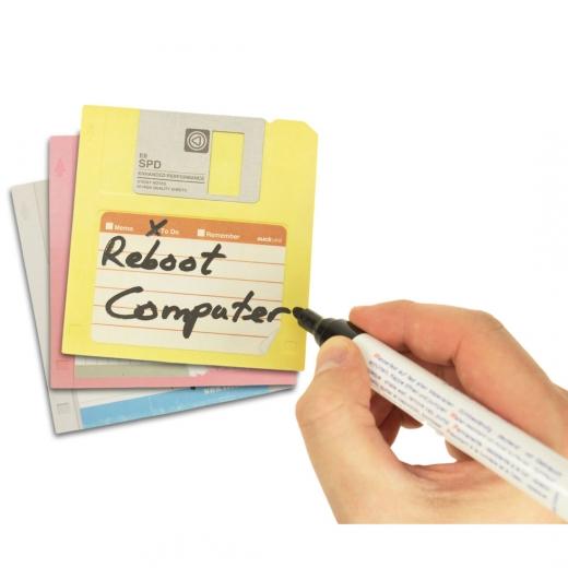 Floppy Disk Haftnotizen