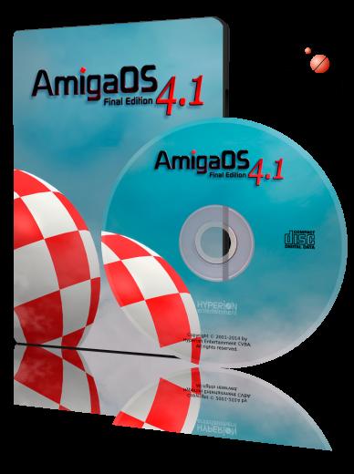 AmigaOS 4.1 FE AmigaOne 500/Sam460