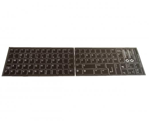 Amiga Tastatur-Aufkleber Set A1200