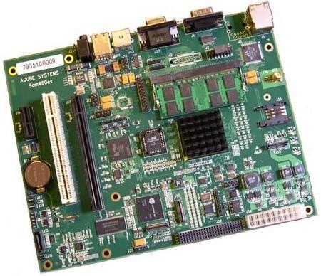 SAM460ex Board inkl. AmigaOS 4.1