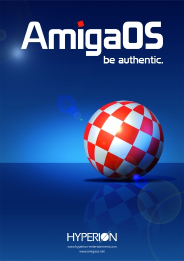 AmigaOS be authentic Poster
