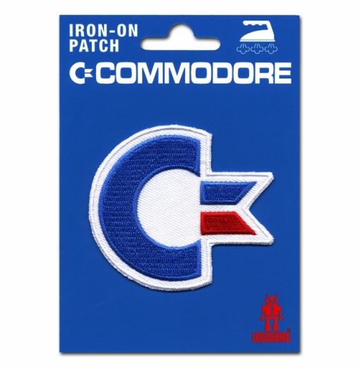 Commodore Aufnäher