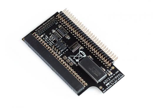 A512 KB Speichererweiterung für den A500(+)