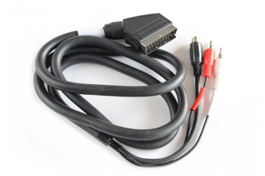 Cable from RGB-Amiga CD 32 with S-Video to SCART
