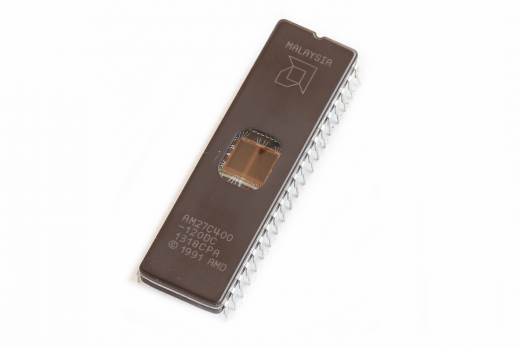 UV-EPROM AMD 27C400 Baustein