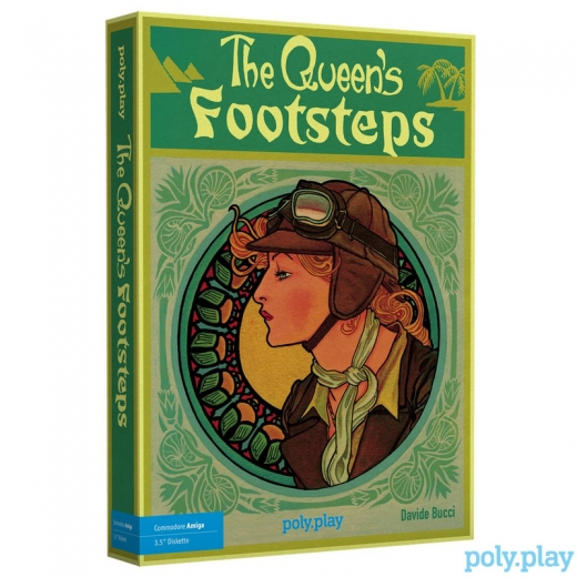 The Queens Footsteps - Collectors Edition - Amiga floppy