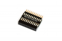 Clock port riser card for Amiga 1200