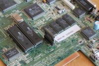 Clock port riser card for Amiga 1200