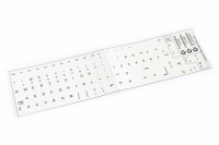 Keyboard sticker Amiga 500 / 1200