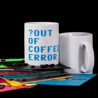 Out of cofee error - cup