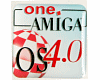 Case sticker AmigaOS 4