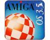 Gehäuseaufkleber AmigaOS 3.5