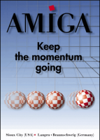 Amiga Poster - Keep the momentum going