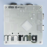 Crystal case for Minimig