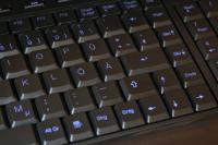 GeneralKeys USB-Keyboard Lightkey blue
