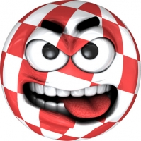 Boing Ball Angry sticker