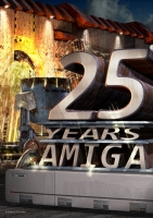 Amiga 25 Jahre Poster
