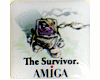 Case sticker Amiga Survivor