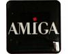 Gehäuseaufkleber Amiga schwarz