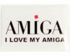 Gehäuseaufkleber I love my Amiga