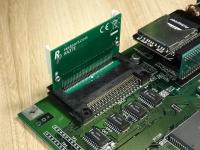 PCMCIA angle adapter