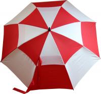 Regenschirm mit Karomuster