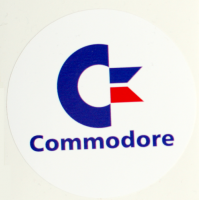Sticker Commodore 150 mm