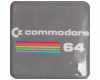 Gehäuseaufkleber Commodore 64